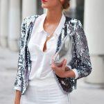 Πως να φορέσεις ένα σακάκι με παγέτες το καλοκαίρι