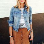 5 στιλάτοι τρόποι να φορέσεις μια σουέτ φούστα την άνοιξη