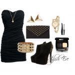Με ποια παπουτσια συνδοιάζεται το μαυρο φόρεμα 50+ Outfits