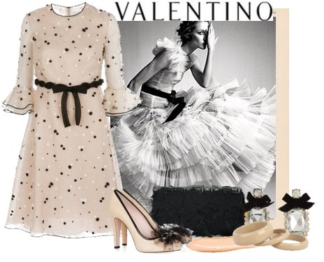 Look of the day 09 - Look of the Day με φόρεμα Valentino σε midi μήκος