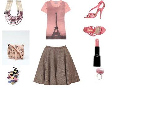φούστα Alexander McQueen και ένα ροζ t shirt Moschino - Look of the Day με φούστα Alexander McQueen και ένα ροζ t-shirt Moschino
