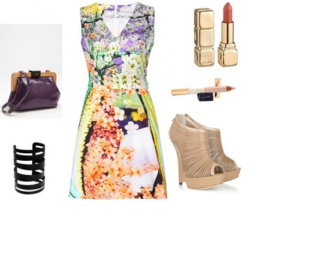 51ca33c4b702a1b7f91a04c247dcdc3d - Look of the Day με φόρεμα Mary Katrantzou και ένα ζευγάρι πλατφόρμες Jimmy Choo