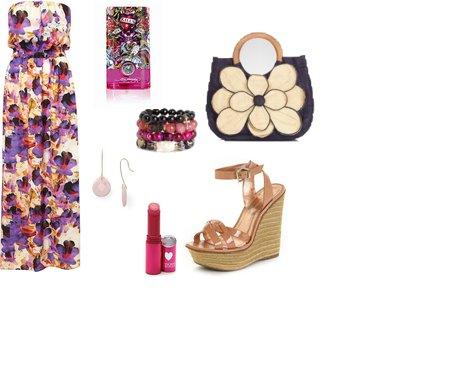 c8fc33419211655767bdb558fb9db835 - Look of the Day με floral maxi φόρεμα Topshop και πλατφόρμες BCBGeneration