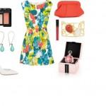 floral φόρεμα Alice + Olivia