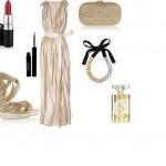 maxi φόρεμα Lanvin και ένα ζευγάρι πέδιλα Jimmy Choo