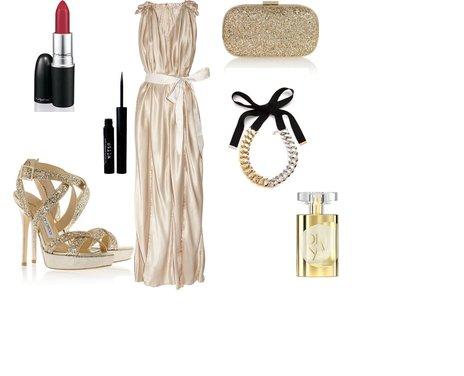 maxi φόρεμα Lanvin και ένα ζευγάρι πέδιλα Jimmy Choo - Look of the Day με maxi φόρεμα Lanvin και ένα ζευγάρι πέδιλα Jimmy Choo