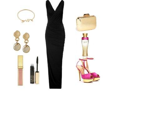 1c739a55eaa56887abc3a8c812e11159 - Look of the day με maxi φόρεμα Donna Karan
