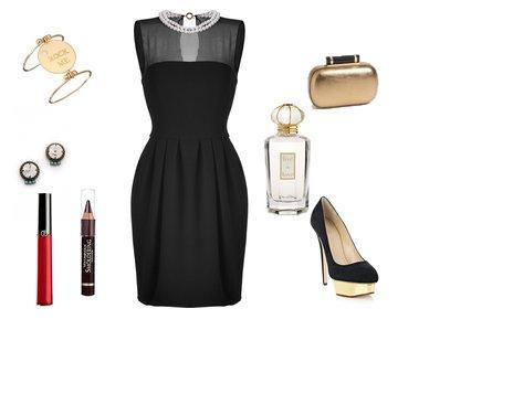 3bcee7b169c5d22f9734c255ccb3a8cf - Look of the day με φόρεμα Moschino