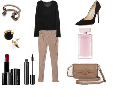 41ca4c5da76301542e8f0a01ae8bd057 - Look of the day με harem παντελόνι Victoria Secret