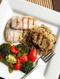 Royal Genware Square Plate 228x300 - 4 τρόποι για να τρώμε λιγότερο