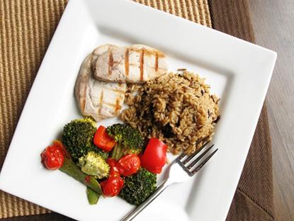 Royal Genware Square Plate - 4 τρόποι για να τρώμε λιγότερο