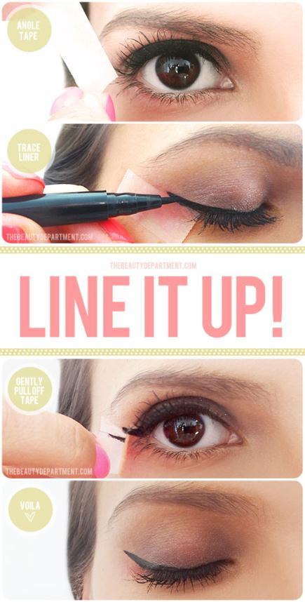 TBD Line It Up - Make up Tip για να βάλετε πανεύκολα το Eyeliner