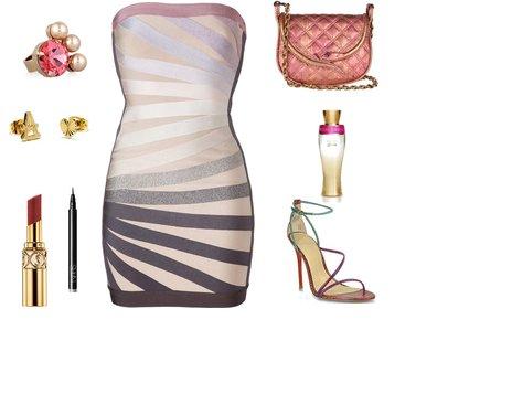 dcf252ad5931a85a789c288838cd62af - Look of the day με φόρεμα Herve Leger