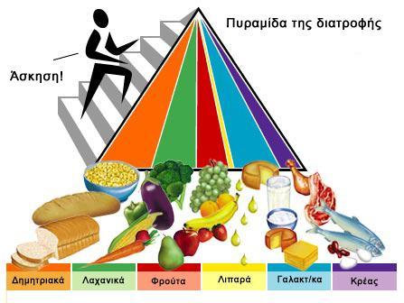 piramida diatrofis enilikes - Πυραμίδα τροφίμων: Ότι πρέπει να γνωρίζουμε