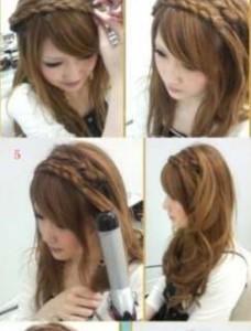 13 228x300 - Πλεξούδες σε κυματιστά μαλλιά