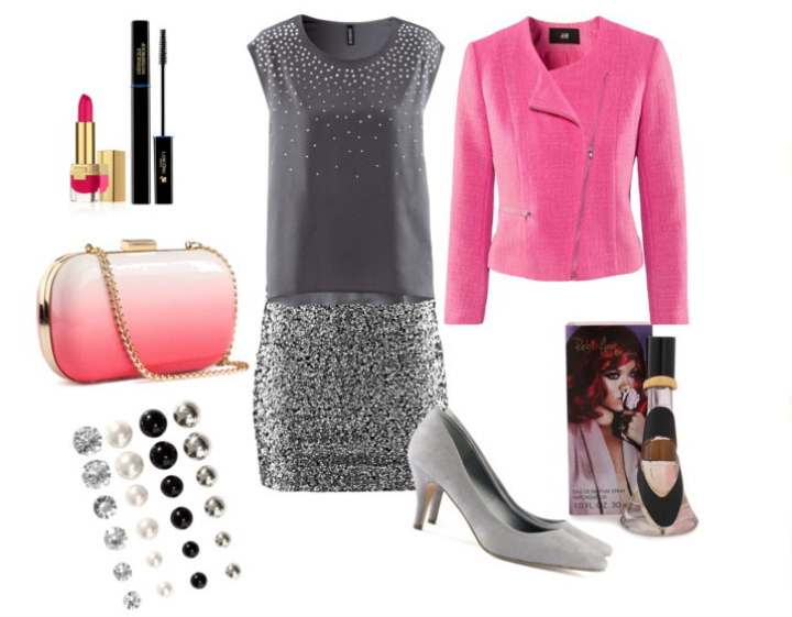Clip10 - Look of the day με φούστα H&M