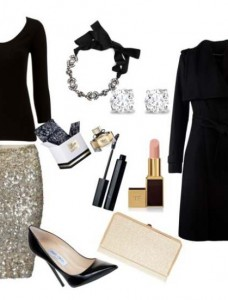 Clip2 228x300 - Look of the day με φούστα All saints