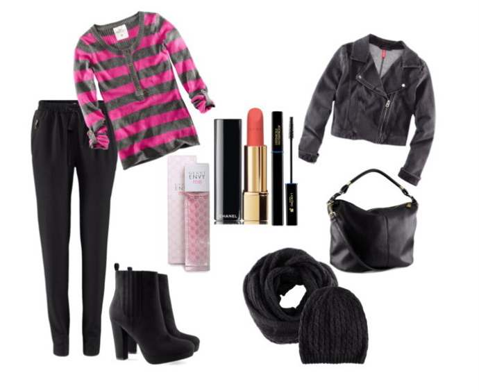 Clip2 - Look of the day με μποτάκια H&M