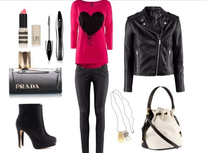 Clip3 - Look of the day με τσάντα H&M