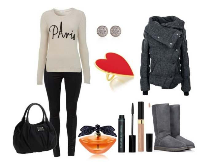 Clip 21 - Look of the day με μπότες Ugg