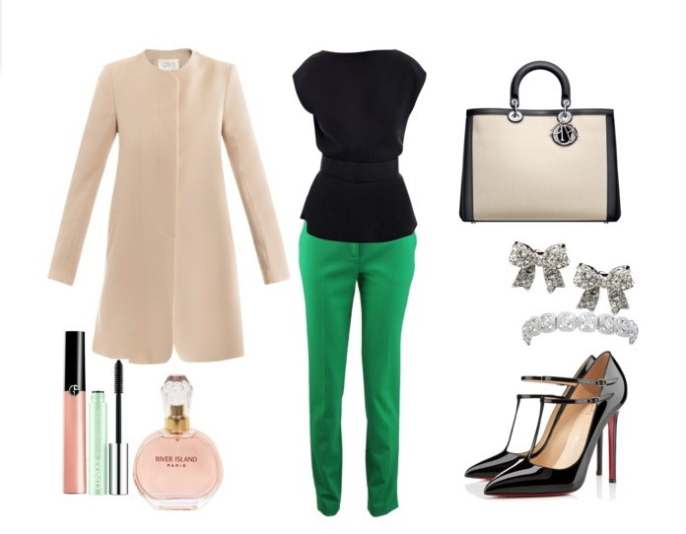 Clip 2 - Look of the day με παλτό Goat