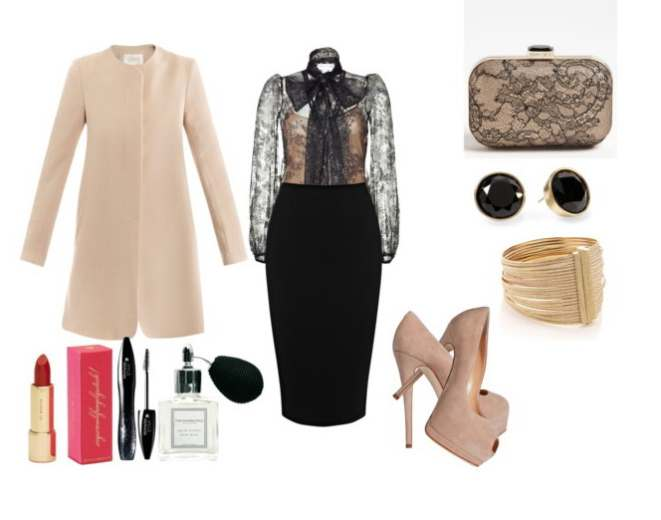 Clip 218 - Look of the day με clutch Jimmy Choo