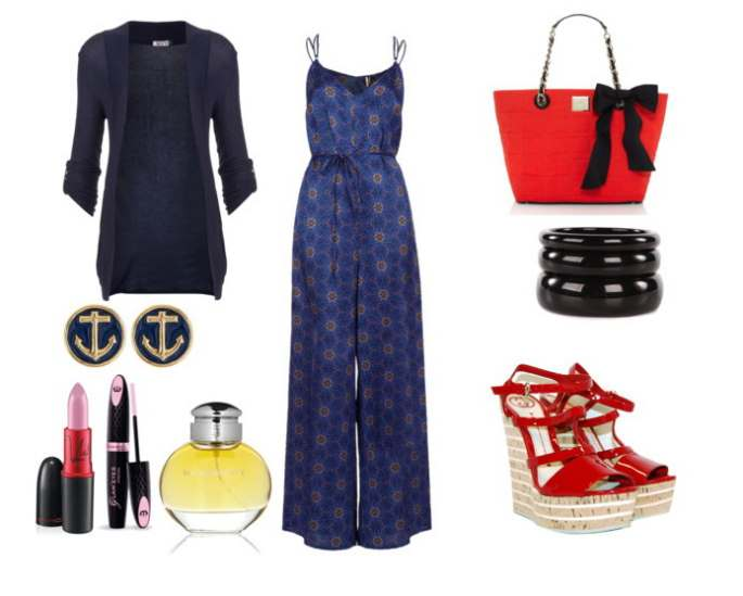 Clip 423 - Look of the day με jumpsuit topshop