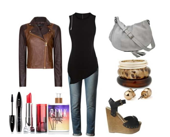Clip 44 - Look of the day με top Karen Millen