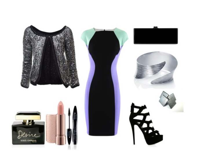 Clip 46 - Look of the day με φόρεμα Versace