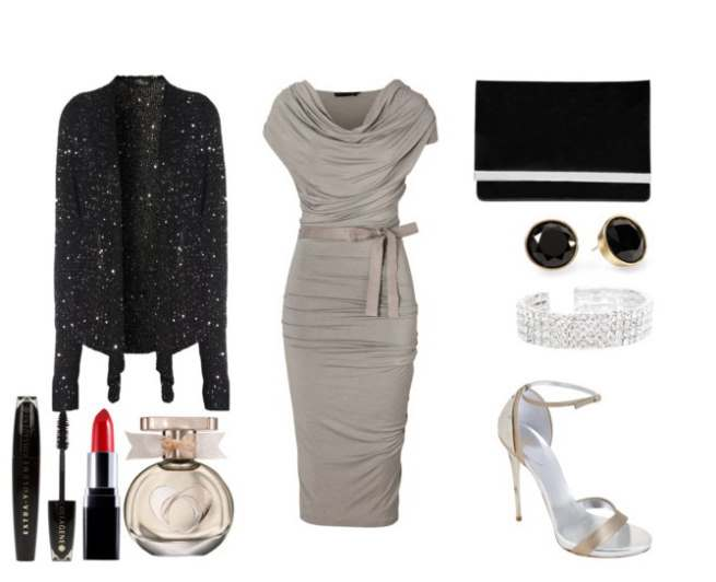 Clip 48 - Look of the day με φόρεμα Donna Karan