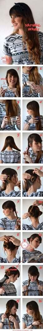 117 - Φυσικά κυματιστά μαλλιά