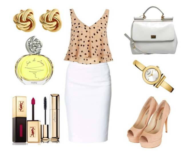 Clip18 - Look of the day με φούστα Zara