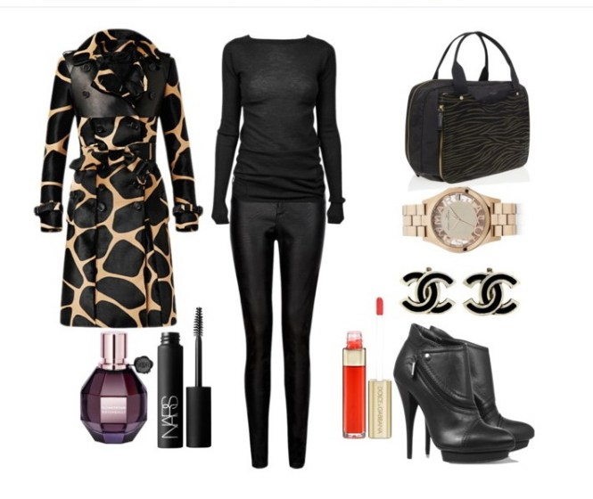 Look of the day with a Burberry coat - Look of the day με παλτό Burberry