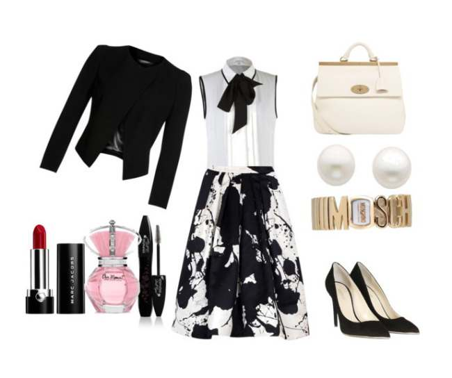 Clip10 - Look of the day με ρολόι Moschino