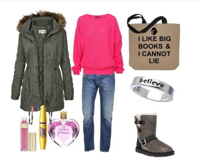 Clip11 - Look of the day με ένα ζευγάρι μπότες Ugg