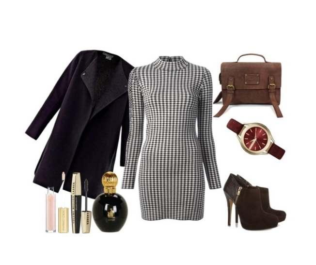 Clip6 - Look of the day με φόρεμα Farfetch