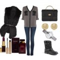 Look of the day with a Mango furry vest 120x120 - Look of the day με γούνινο γιλέκο Mango