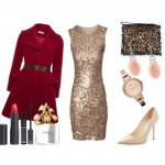 Fabulous Christmas outfit with a Jane Norman dress