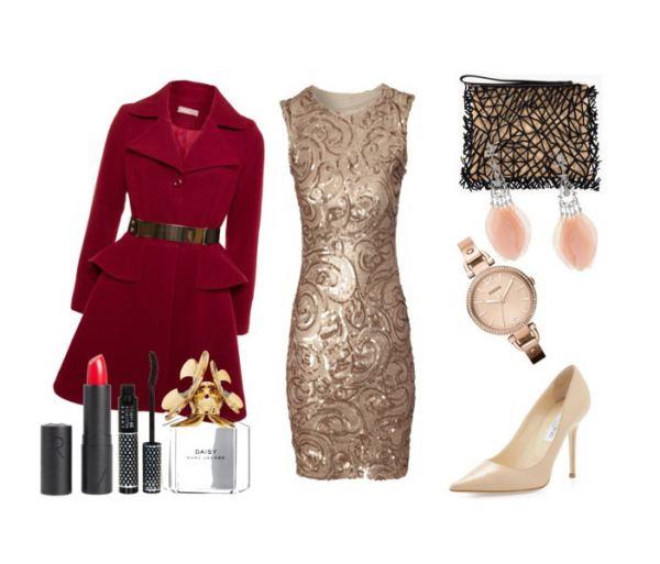 Fabulous Christmas outfit with a Jane Norman dress - Υπέροχο σύνολο για τα Χριστούγεννα με φόρεμα Jane Norman