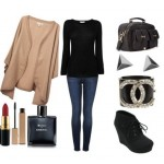 Look of the day for casual daytime look