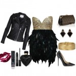 The ultimate female rock glam Christmas Outfit