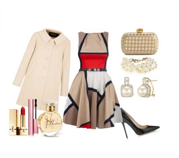 Elegant ensemble with Jimmy Choo shoes and bracelet Jcrew