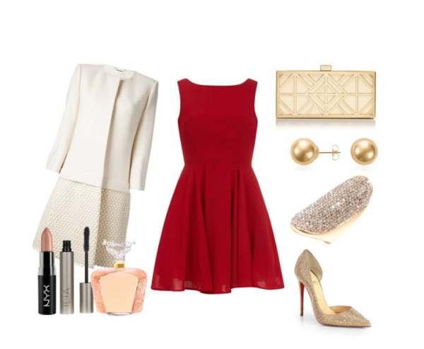 Elegant set is ideal if you are a guest at a wedding - Κομψό σύνολο ιδανική επιλογή αν είστε καλεσμένη σε ένα γάμο