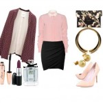 Look of the day to stand in a formal or evening out