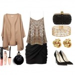 Look of the day with Balmain shoes and clutch Alexander McQueen