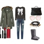 Look of the day with Ugg boots and bag Steve Madden