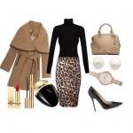 Stylish set with a skirt and a Lipsy bag Michael Kors