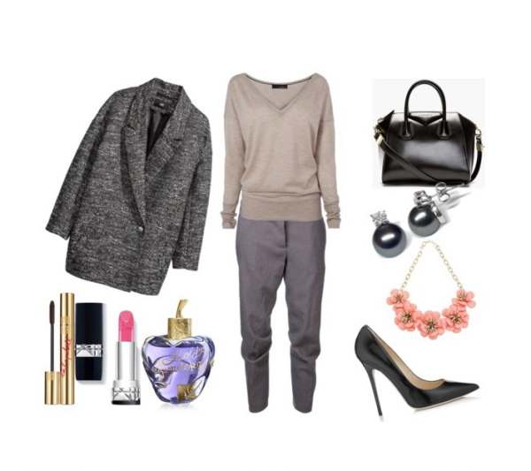 Look of the day a smart choice for the office - Look of the day μια έξυπνη επιλογή για το γραφείο