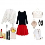 Look of the day with Harvey Nichols skirt and Givenchy bag