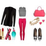 Look of the day with Moschino shoes and bag Kate Spade